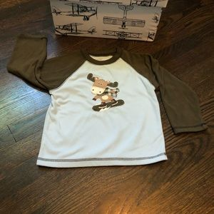 Fleece Moose shirt